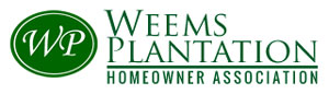 Weems Homeowner Association